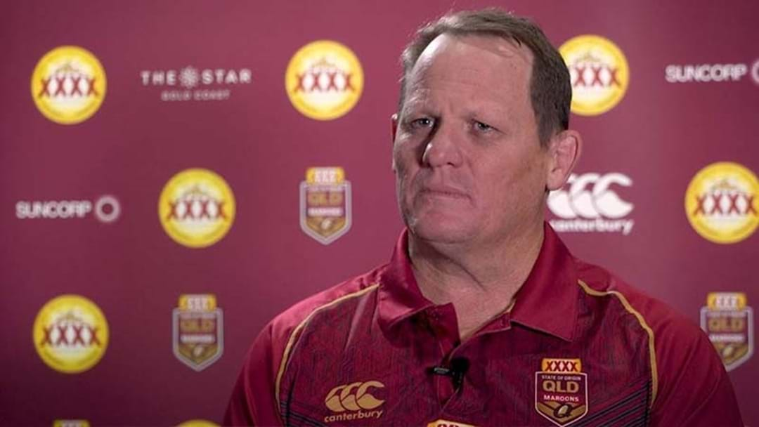 QLD Chairman Responds To Comments That Kevin Walters' Job Is On The Line
