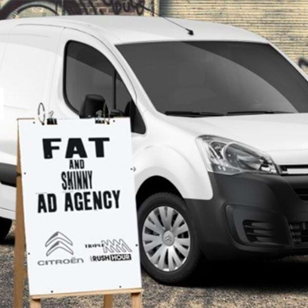 The Citroen Berlingo Fat & Skinny Ad Agency