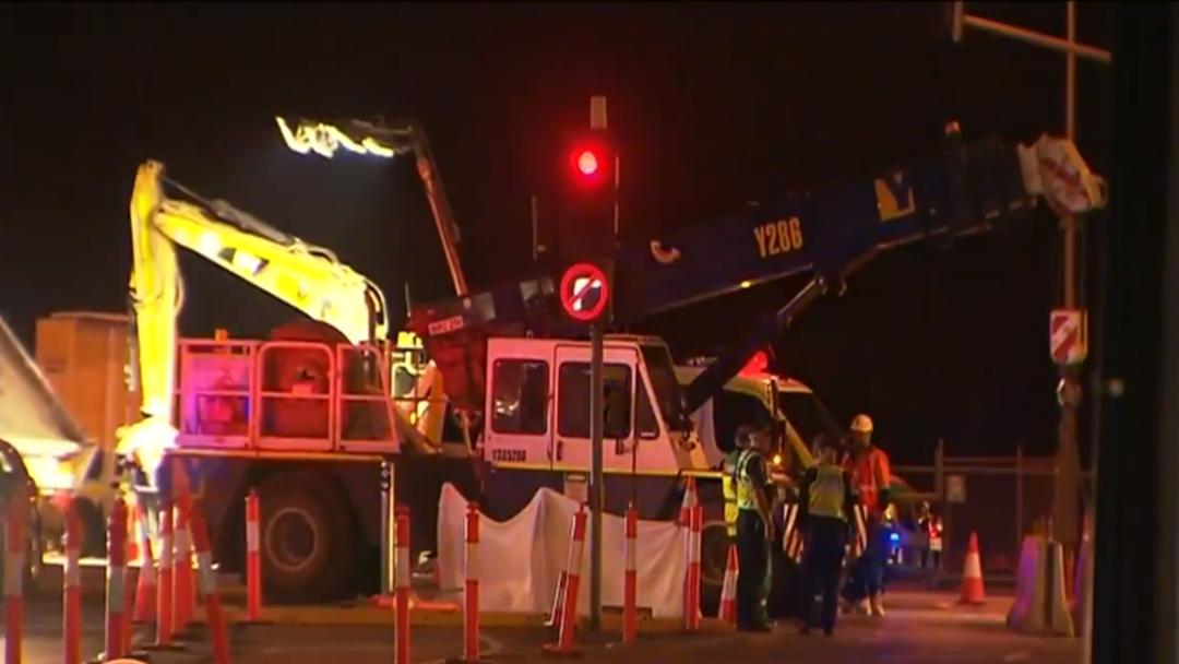Man Killed In Crane Accident