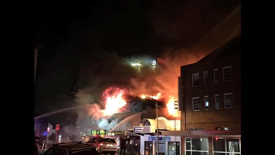Amigos Bar & Grill Goes Up in Flames
