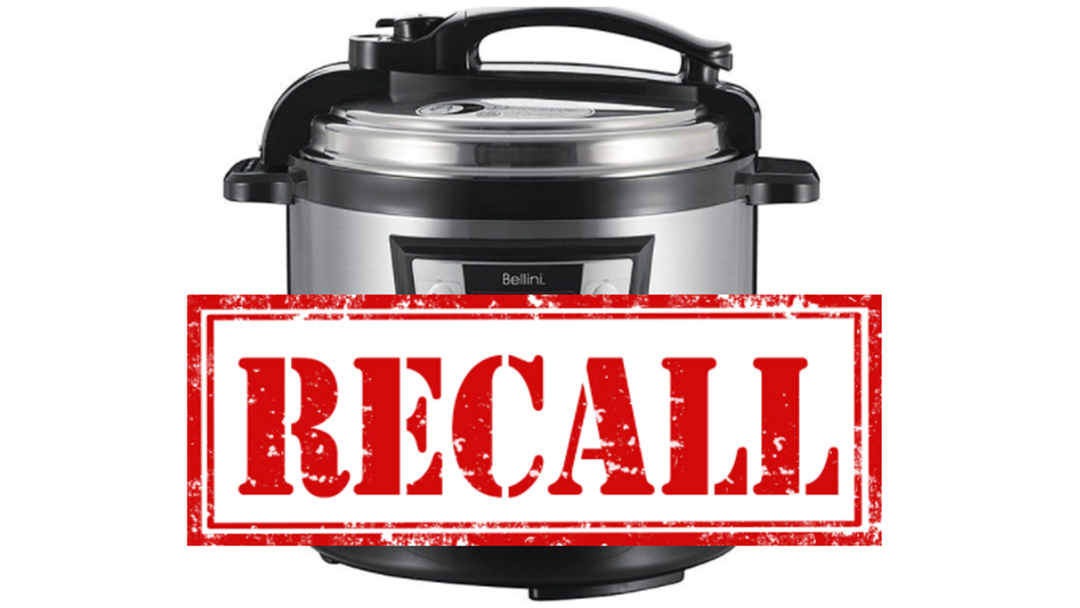 Target Recalls Pressure Cooker With Fears Lid May Pop Loose