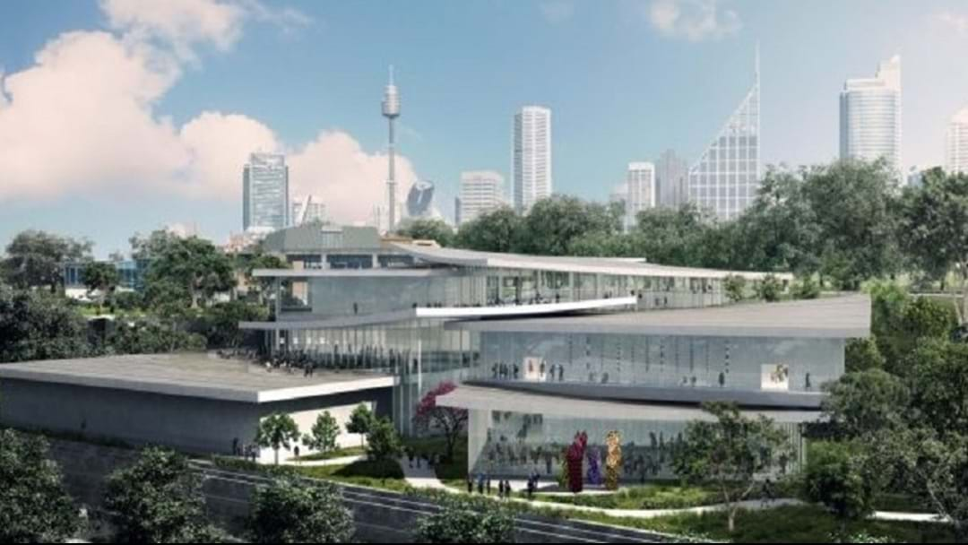 244 Million Dollar Face-Lift For Sydney Art Gallery