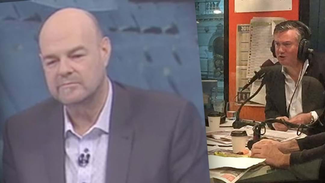 Eddie McGuire's Clear Message For Mark Robinson