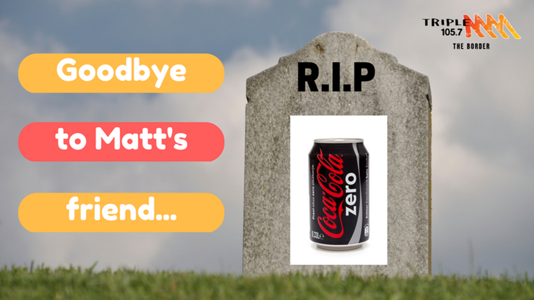 A Coke Zero Obituary