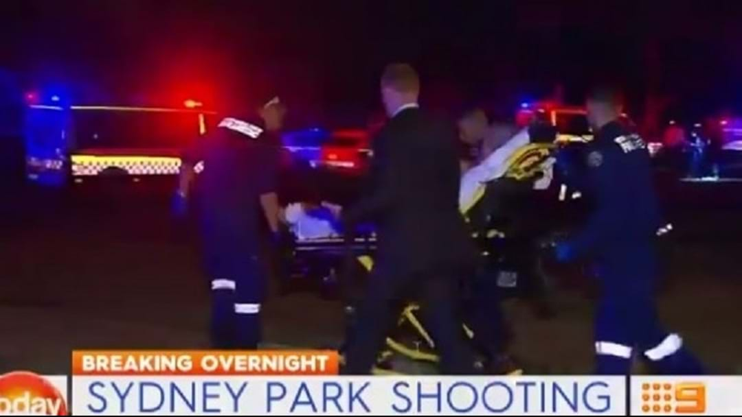 Kids Bolt From Sydney Park Shooting