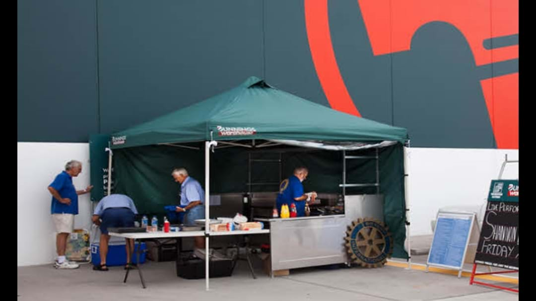 Bloke Faces Huge Fine For Using Drone To Pick Up Bunnings Sausage
