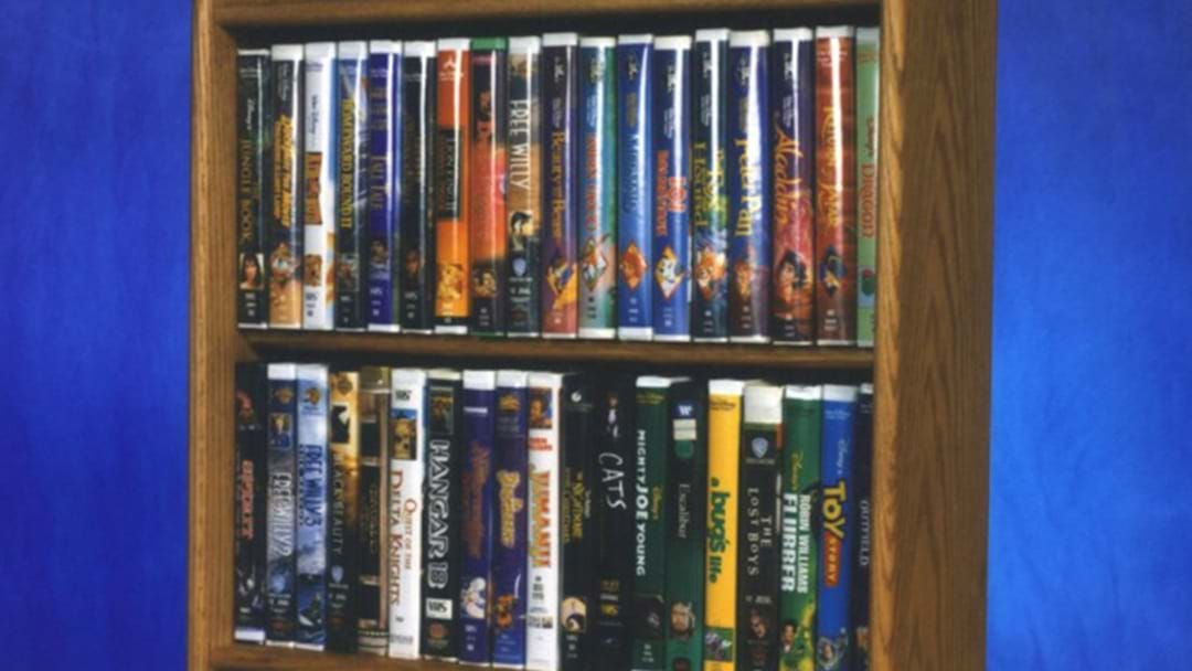 If You Still Have Any Of These VHS Tapes... You're Sitting On A Gold Mine
