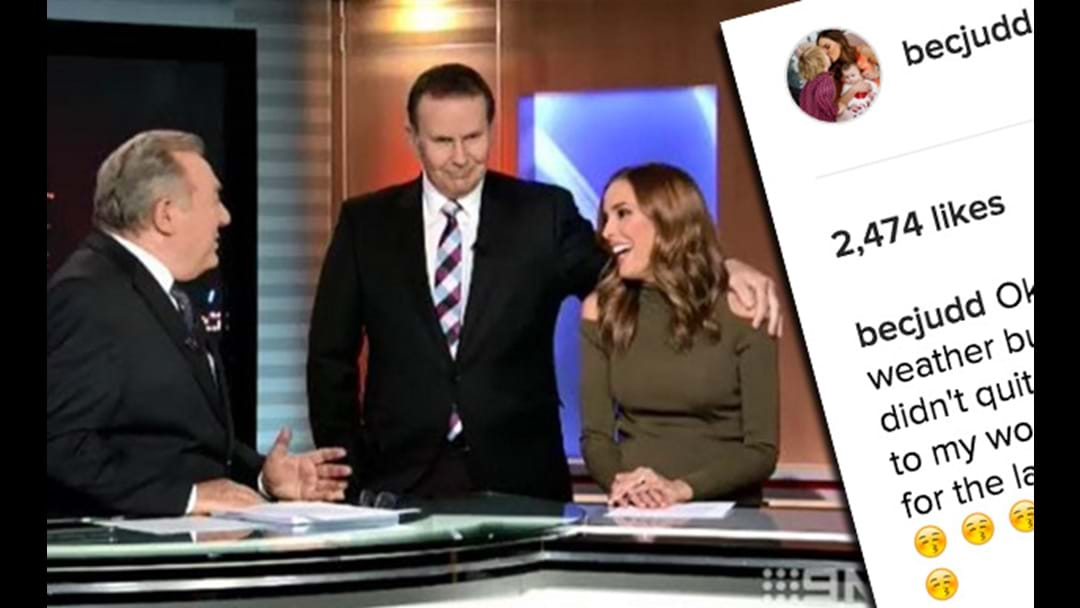 Rebecca Judd Speaks Out Following The Most Awkward TV Moment Of All Time