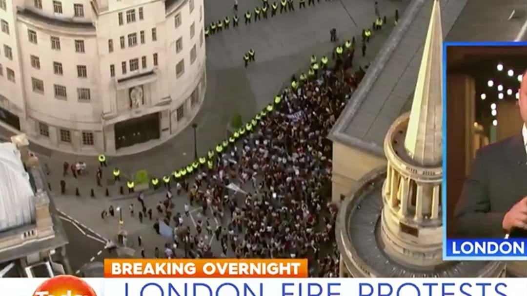 Protests Erupt Over Grenfell Tower Fire