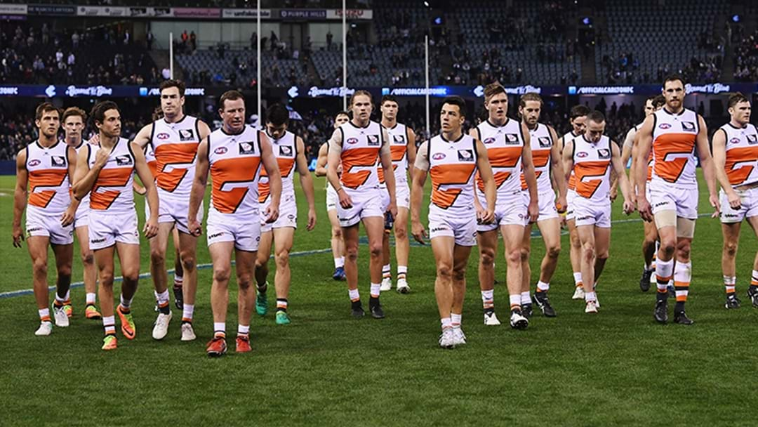 GWS Reportedly Slapped With Draft Penalty