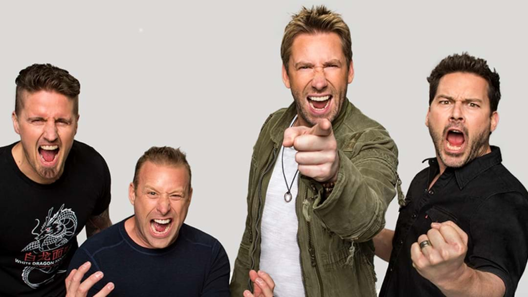 TOUR ANNOUNCEMENT: Nickelback Feed The Machine Australian Tour