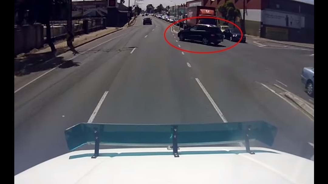 The Most Aussie Reaction To A Near Miss Ever
