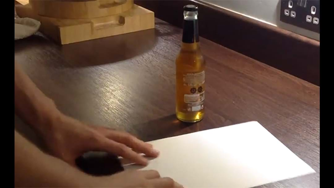 Learn How To Open A Beer With A Sheet Of Paper (In Under 30-Seconds)