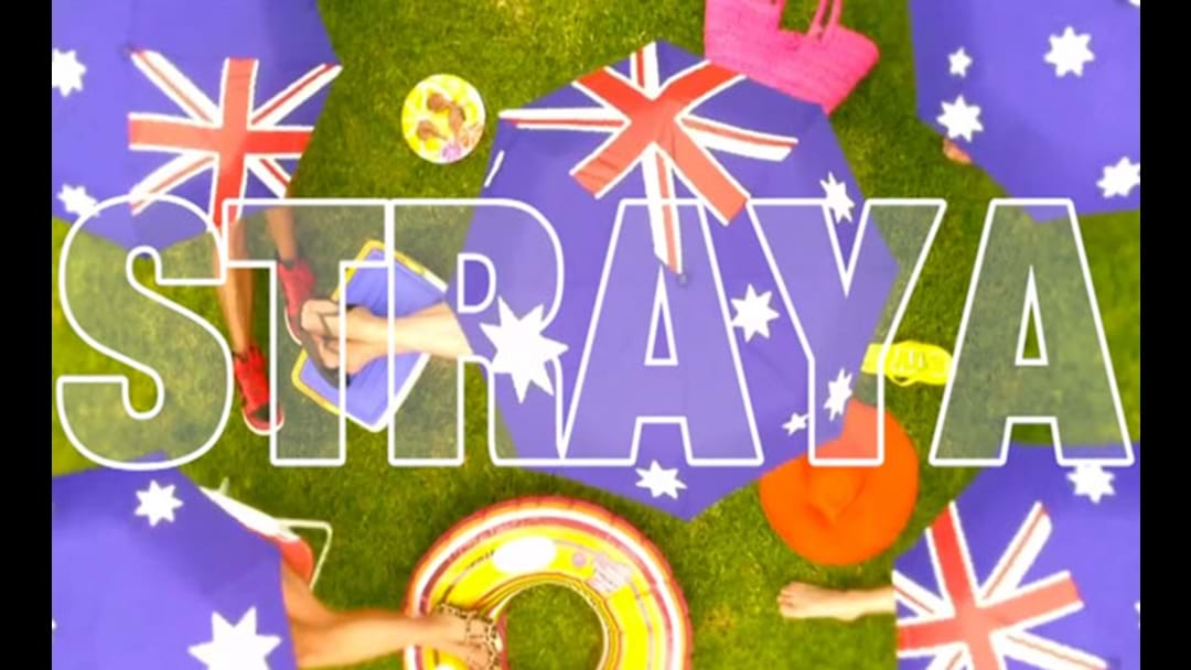 STRAYA The Unofficial Australia Day Anthem
