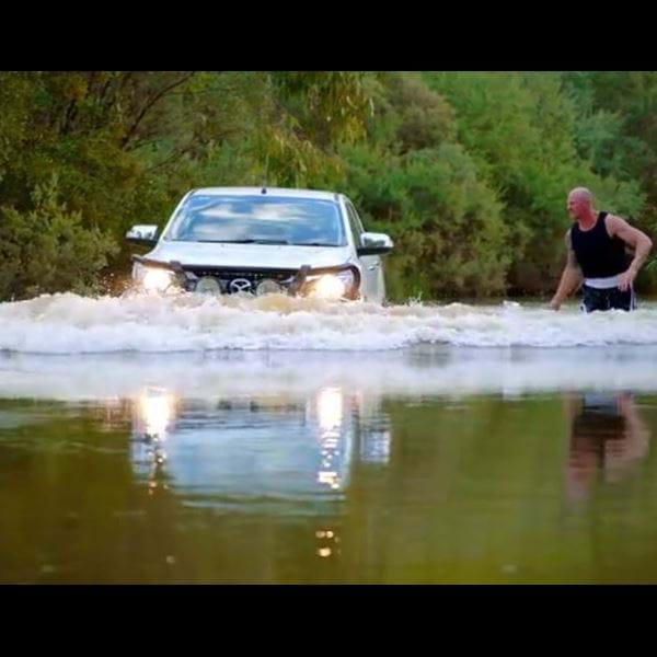 Barry Hall vs Mazda BT-50: The Final Challenge!