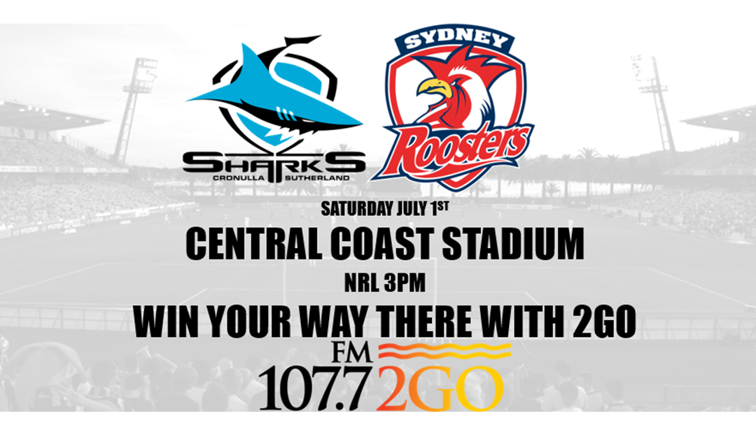 SHARKS V ROOSTERS AT CENTRAL COAST STADIUM