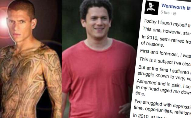 Article heading image for Prison Break Star Wentworth Miller's Moving Facebook Post Following Fat-Shamiing Meme