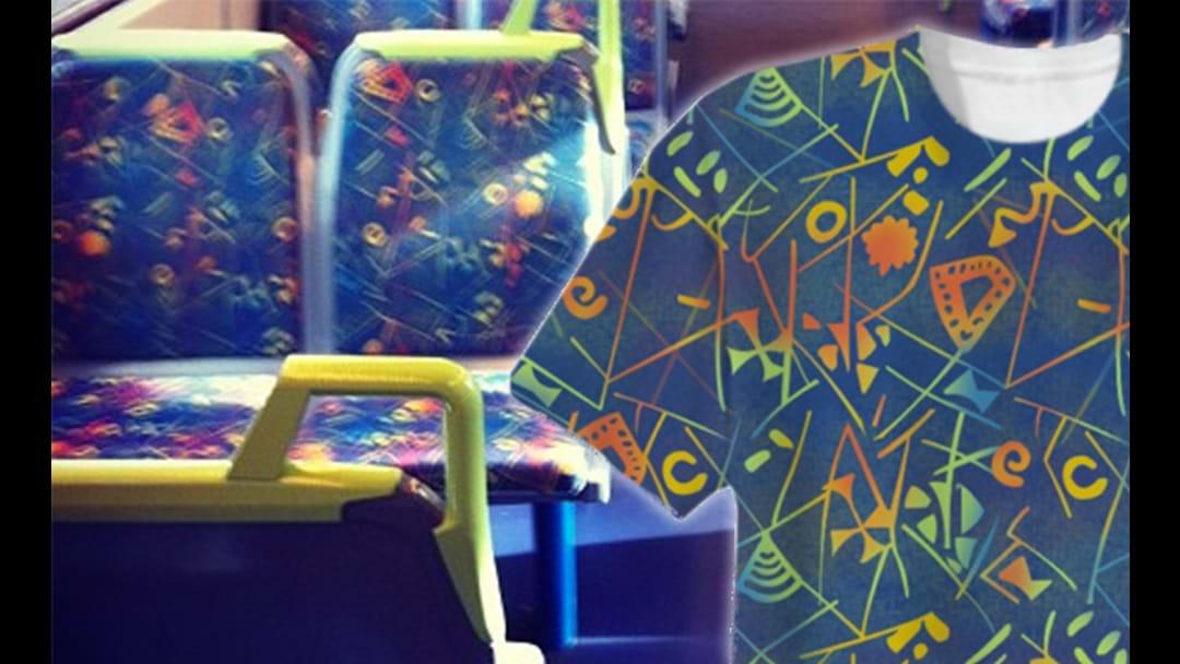 You Can Now Dress Like A Melbourne Train Seat