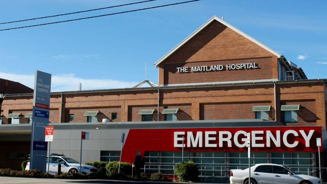Man Turns Up To Maitland Hospital with Gunshot Wound