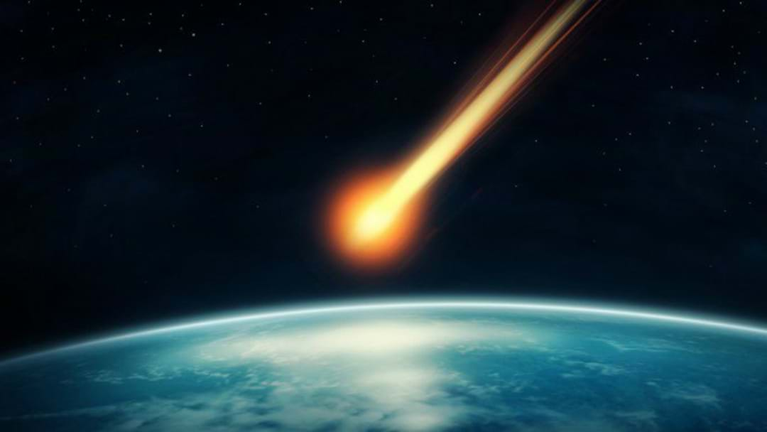 Meteor Shoots Across Hunter's Sky