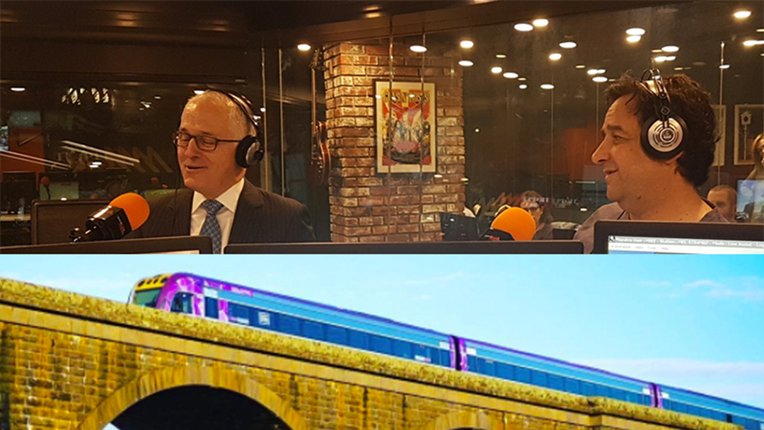 Prime Minister Malcolm Turnbull Confirms Massive Boost For Victorian Regional Rail