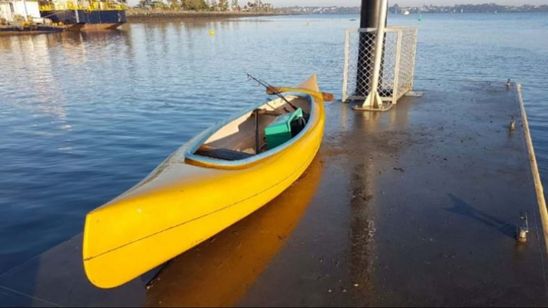 Police Solve Mystery Of Empty Canoe Off Moreton Bay