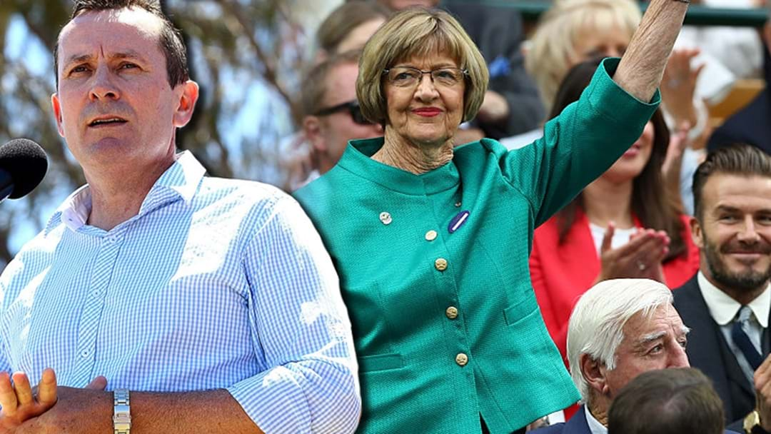 McGowan's Joke About Margaret Court Hilariously On Point