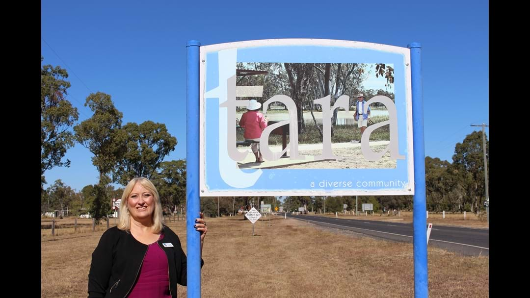 New Town Entry Signage and Revitalised Entrances for the Western Downs