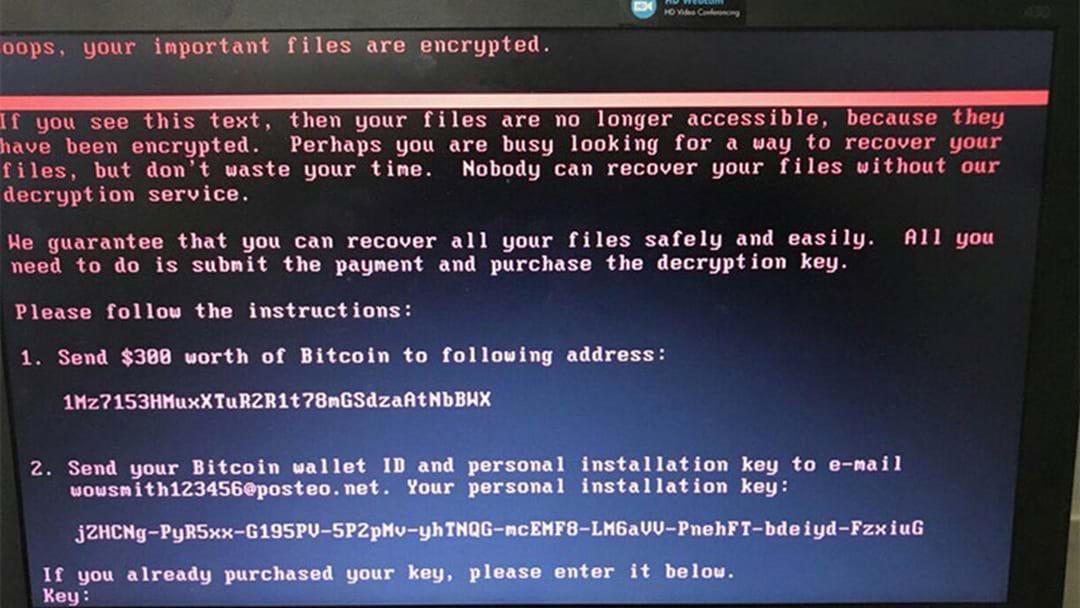 Global Cyber Attacks Reach Australia