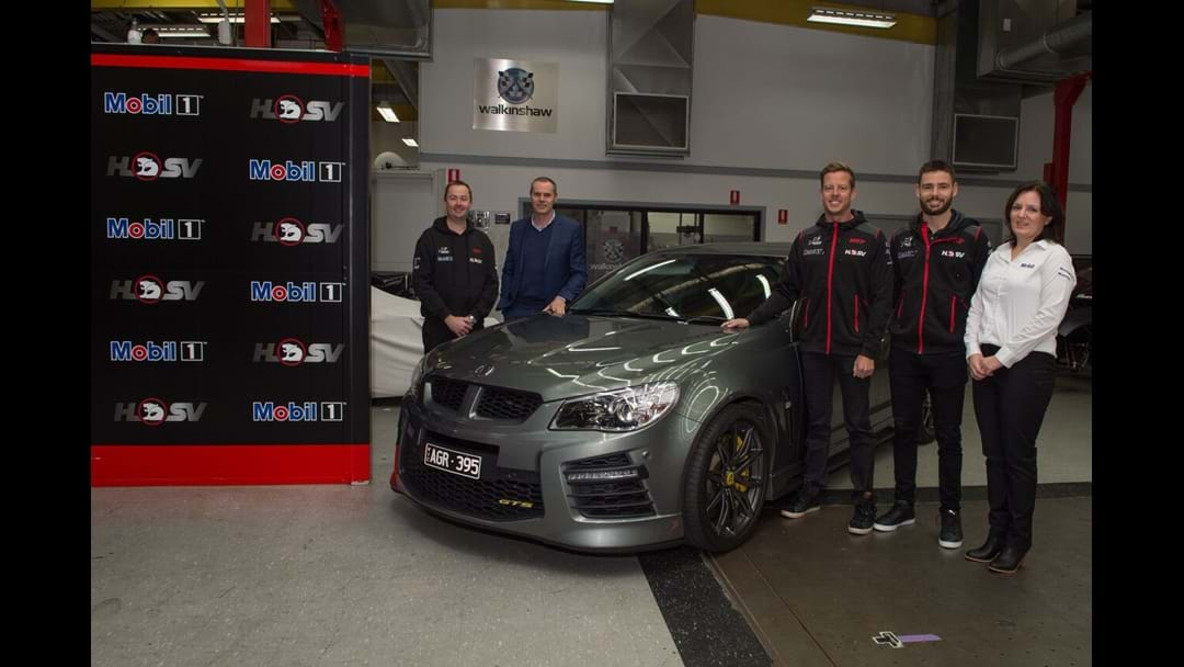 Walkinshaw CEO Reveals Mobil 1 HSV Racing's Key Takeout From 2017