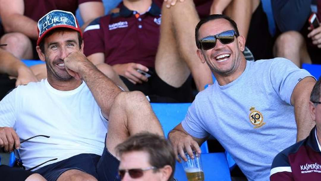 Matty Johns Has Been Labelled The 'Loser Brother'
