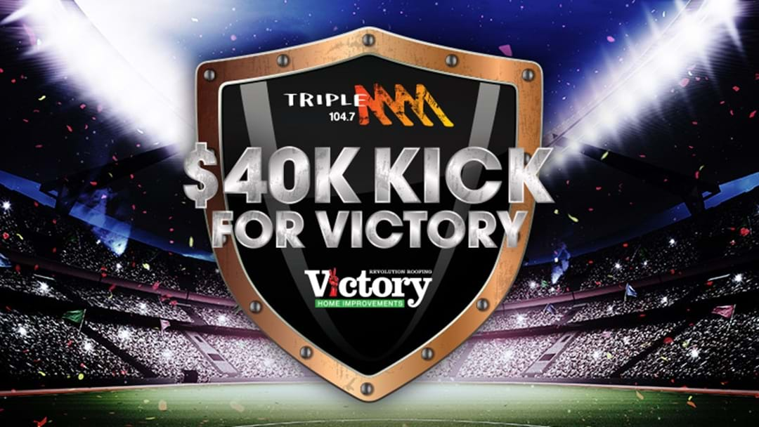 Kick A Goal From 40 Metres Out To Win $40 Grand!