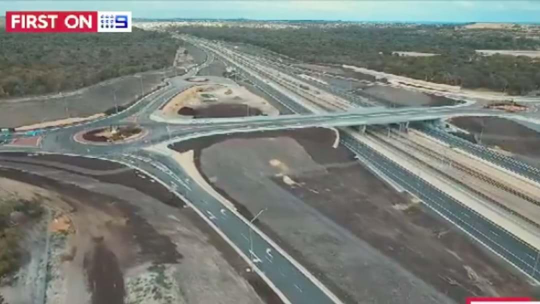Sneak Peek At Perth's New Freeway Congestion Buster