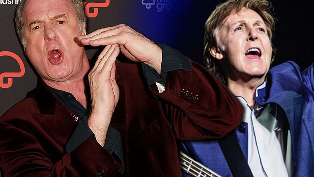 Gudinski's Loose Call Reveals A Whole Bunch Of McCartney Show Details