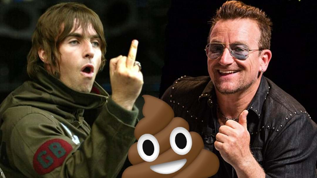 """""""I'd rather eat my own sh*t"""": Liam Gallagher on listening to U2"""