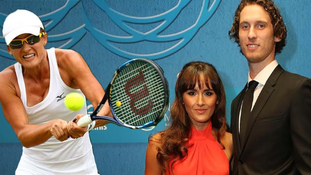 The Only Aussie Left at Wimbledon Is Ty Vickery's Wife