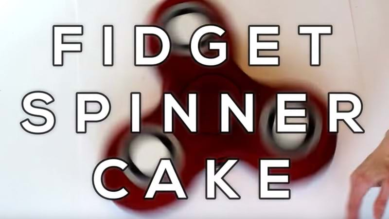 Article heading image for A Fidget Spinner Cake That Actually Spins