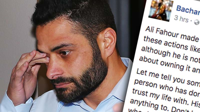 AFL's diversity manager Ali Fahour 'ashamed' after punching opponent