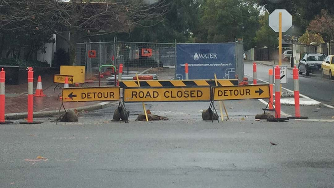 Perth's Never Ending Roadworks Hotspots