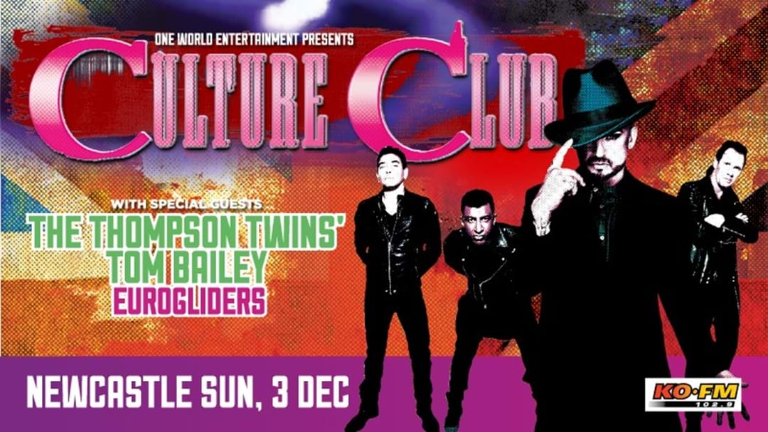 KOFM Presents Culture Club at Newcastle Entertainment Centre