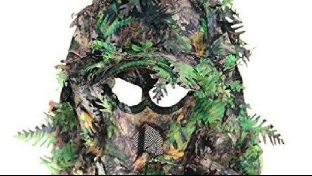Creepy 'Ghillie Suit' Worn During Sexual Assault