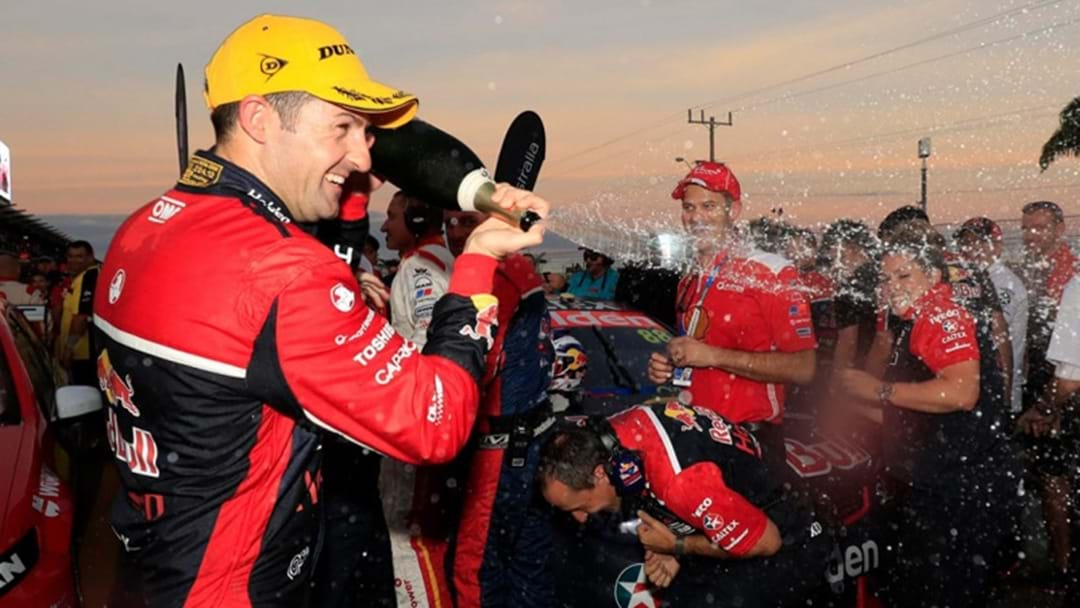 Jamie Whincup Breaks Drought With Townsville Win
