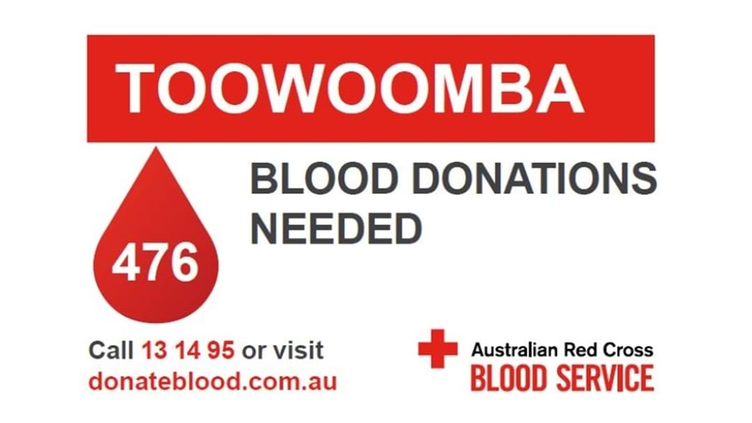 Blood Donors Needed This Winter in Toowoomba