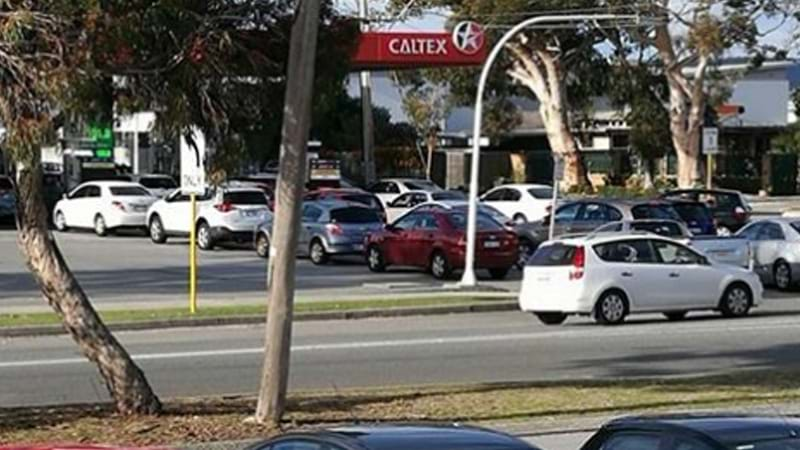 Article heading image for A Snapshot Of The Madness On #Perth Roads During Cheap Fuel Monday