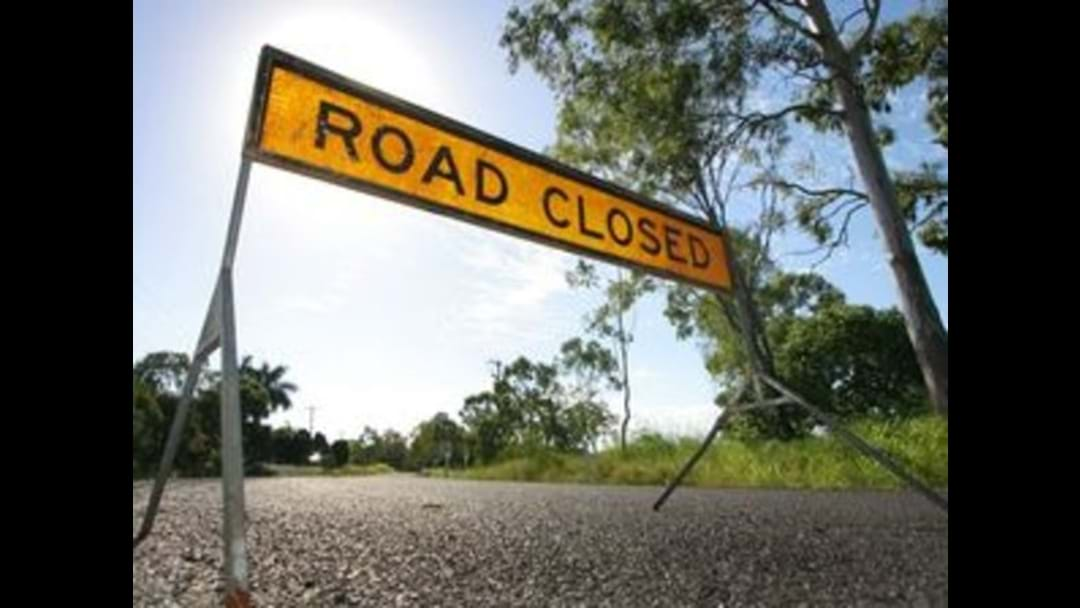 Road Closed In Townsville