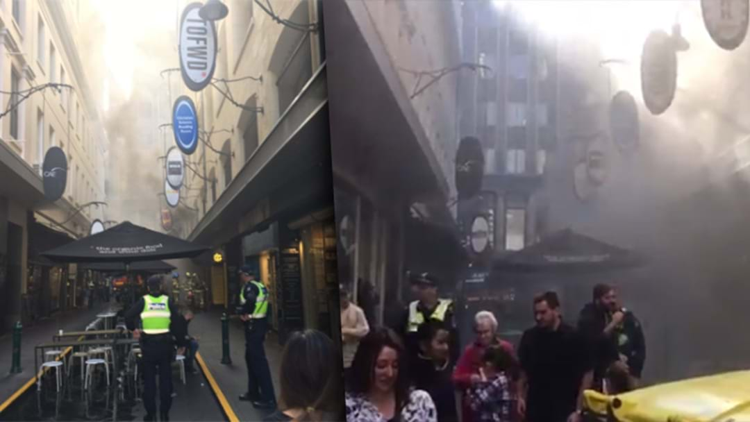 Fire Causes Evacuation In Melbourne CBD