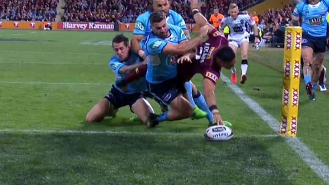 Valentine Holmes Has Scored A Screamer Of An Opening Try