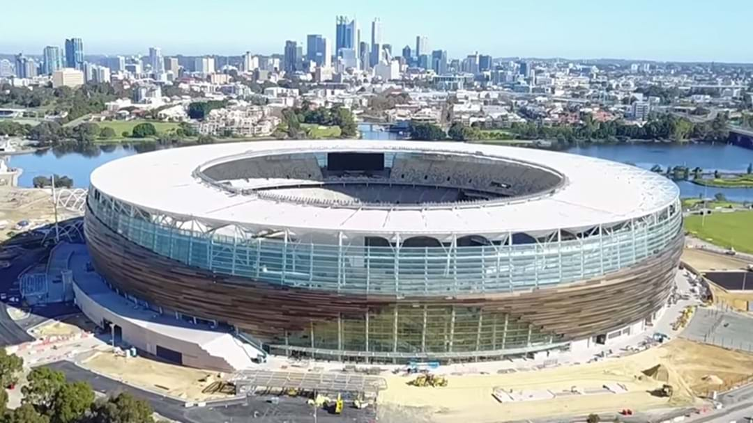 Drone Footage Getting Us Very Excited About Perth Stadium