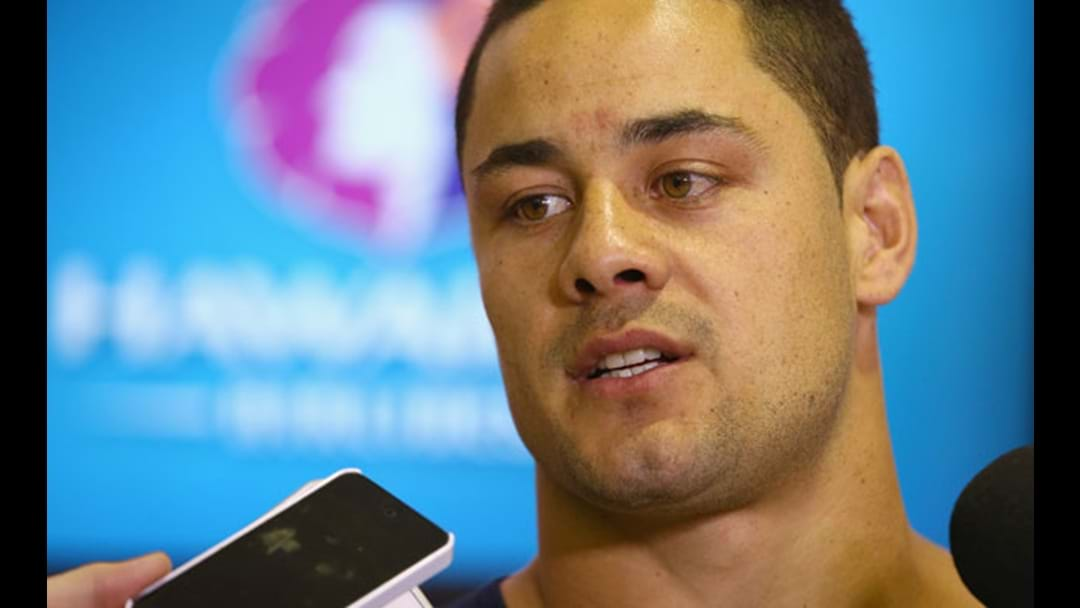 Jarryd Hayne Addresses US Sexual Assault Allegations