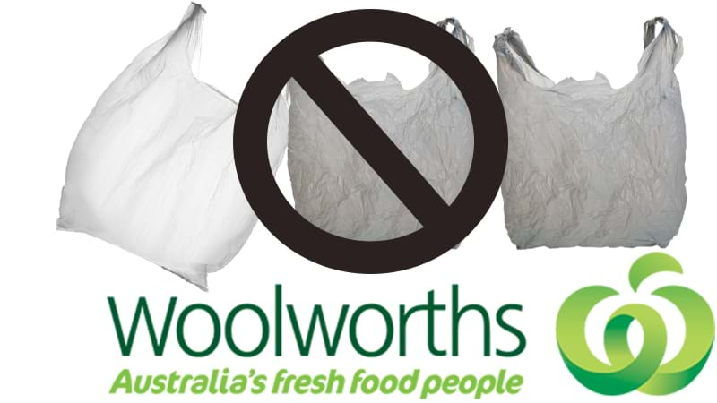 Bagged out: Woolworths to phase out plastic bags within a year